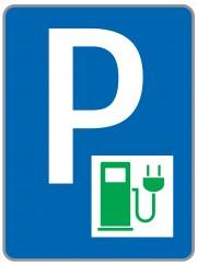 Parkplatz E Ladestelle