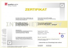 Zertifikat ECM 2013
