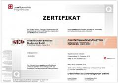 Servicequalitt OePV Zertifikat 2018 12 05